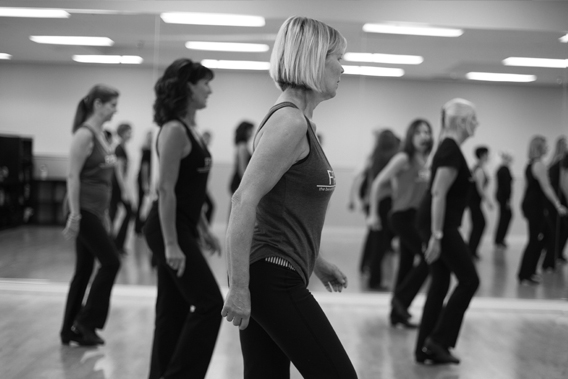 Beginning FitTAP. Start tap dance fitness learning basic style & tap combinations.