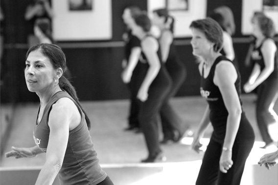 After FitTAP Basics is BEYOND. It is an intermediate level tap dance fitness class. You won't be bored with FitTAP.